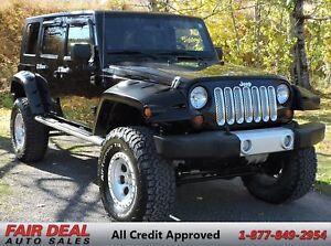 2008 Jeep Wrangler Unlimited: 4x4/6' BDS Lift/37' BFG Tires