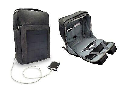 Mochila Solar con Panel Solar Integrado De 8 Vatios Puerto USB portatil...