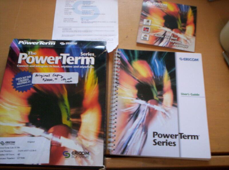 ERICOM POWERTERM LITE 32 BIT with 40 Licenses USED