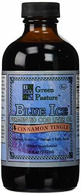 Green Pasture Fermented Cod Liver Oil Cinnamon Tingle 237 Ml   8 Fl Oz Liquid