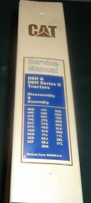 Cat Caterpillar D6h D6h Series I Ii Tractor Dozer Repair Service Manual