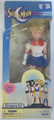 "RARE 2000 ""Sailor Moon"" Adventure Doll Irwin 6"" w/ Cosmic Crescent Wand NIB NEW"