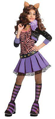 Monster High Deluxe Clawdeen Wolf Costume - - Monster High Deluxe Kostüm