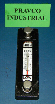 Lenz Highlow Fluid Level Sight Gauge With Oil Temperature Gauge