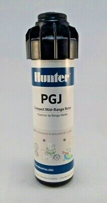 Hunter PGJ-04 Gear-Drive Rotor Sprinkler Head with 2 GPM Nozzle PGJ Adjustable