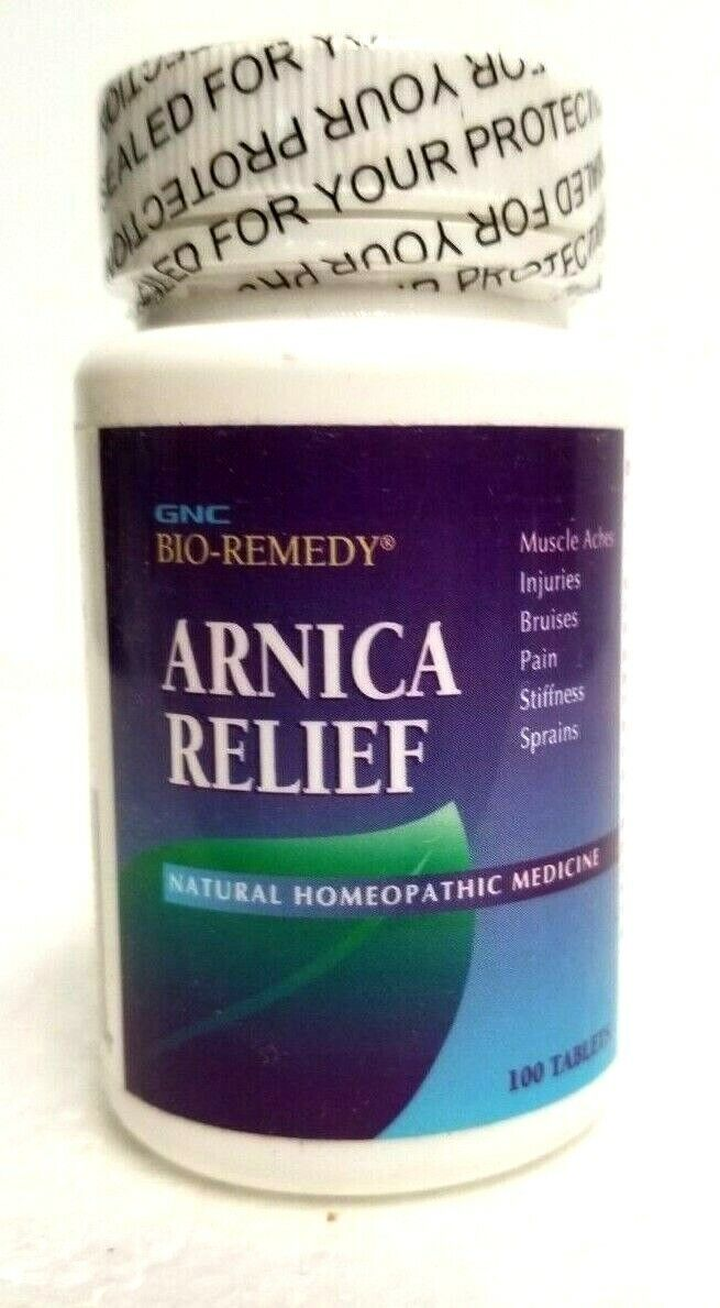 GNC Bio Remedy Arnica Relief Natural Homeopathic Medicine, T