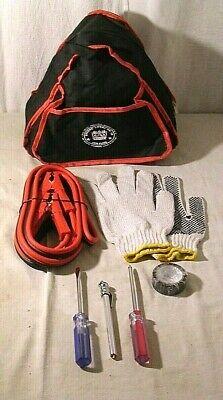 BCTGM Local 19,7-Piece Emergency Roadside Safety Kit,NEW