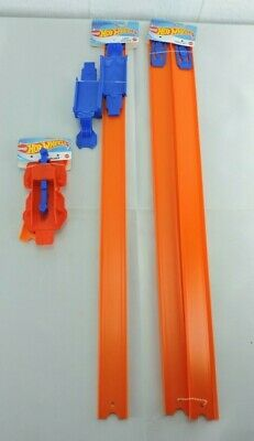 Mattel Hot Wheels Launcher Track Set Loop Builder Lot Bundle Set New