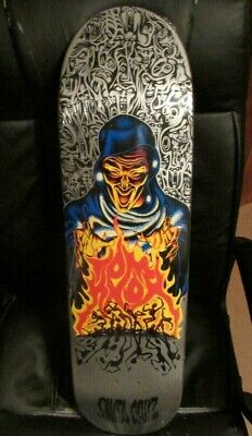 SANTA CRUZ TOM KNOX FROM THE VAULT FIREPIT SKATEBOARD #20 ONLY 77 MADE BLEMISH