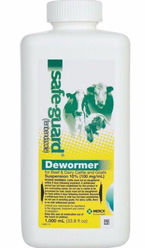 Safe-Guard Fenbendazole Dewormer 1000ml Liquid 10%
