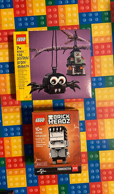 Lego 40493 Spider & Haunted House Pack | Halloween Decoration | New