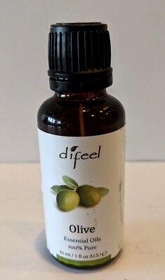 Difeel Essential Oils, OLIVE, 1 Fluid Ounce NEW/SEALED 2411