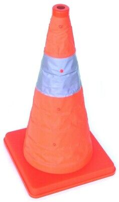 18 Pop-up Car Traffic Warning Cones Orange Parking Safety Road Guard