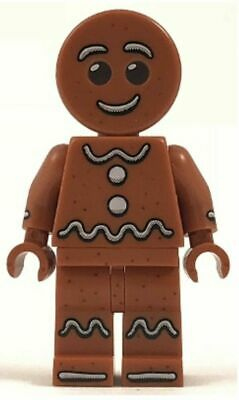 LEGO Gingerbread Man, Christmas Holiday, Minifigure