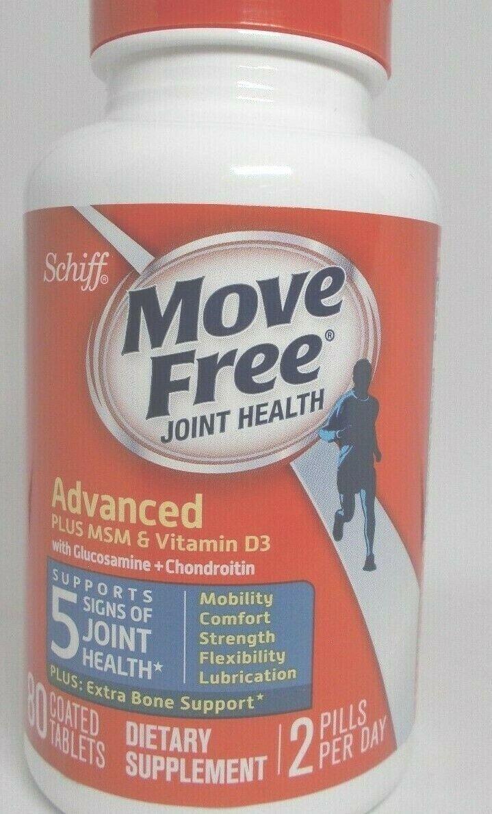 schiff move free joint health msm vitD3 glucosamine chondroi