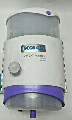 Ecolab Commercial Dishwasher Soap Station Apex Manual - Nwotb