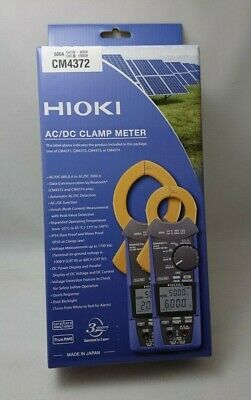 Cm4372 Hioki Electric Acdc Clamp Meter With Acdc 600a Bluetooth Gennect Cross