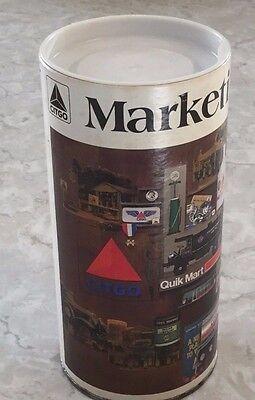Vintage CITGO Marketing Memories 500 Piece Puzzle In A Tin Cities Service Tulsa