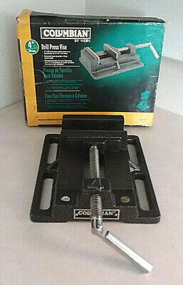 Wilton Columbian 4 In. Drill Press Vise 69997 Wstationary Base Original Box