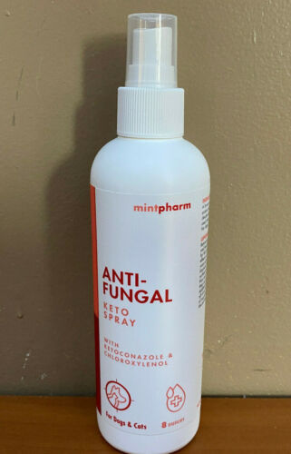 Mintpharm Keto Anti-Microbial and Anti-Fungal Spray Dogs, Cats & Horses 8 oz