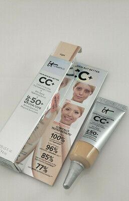 IT Cosmetics Your Skin But Better CC+ Cream LIGHT 0.135 fl oz / 4ml