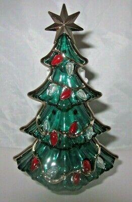 Bath & Body Works Wallflower Diffuser Plug Light Up Christmas Tree Lights Star