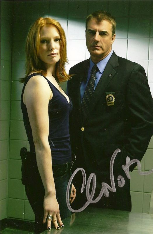 Chris Noth signed autograph Law & Order Actor Rare LOOK