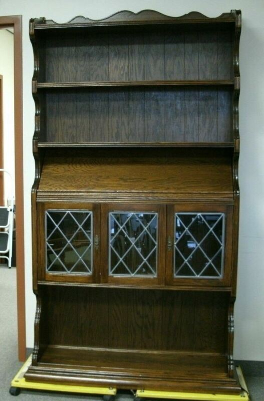 Ethan Allen Royal Charter Oak Bookcase 1980