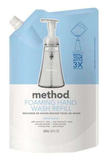 Method Foaming Hand Wash Refill, Sweet Water, 28 Ounce