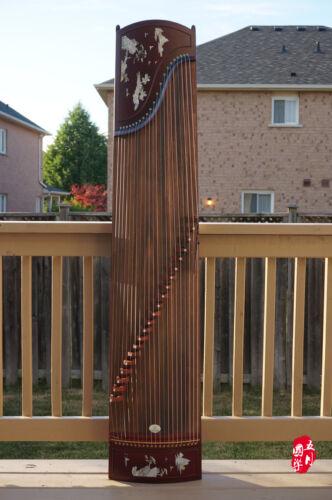Chinese Guzheng, Chinese Zither Harp, Koto, 樂海古箏高山流水 -- 古筝