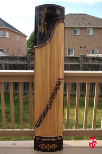 Scarlet Bird Zhuque Top Performance Guzheng, Chinese Zither Harp, 朱雀古箏09b -- 古筝