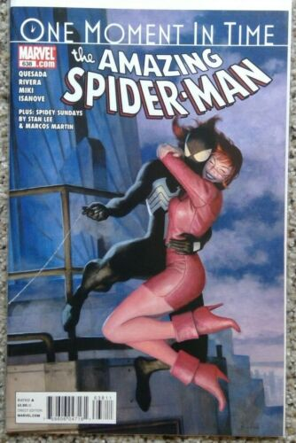 The Amazing Spiderman #638 One Moment In Time - NM or better