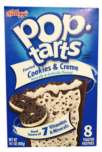 Kellogg's Pop Tarts Frosted Cookies & Creme