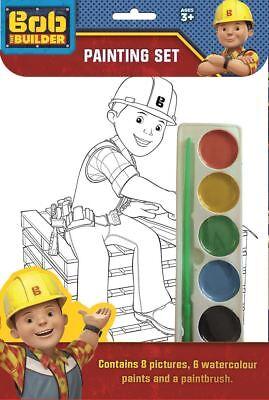 Bob the Builder KINDER JUNGEN MÄDCHEN Malerei Satz Aktivitätsset Alter 3+ ()