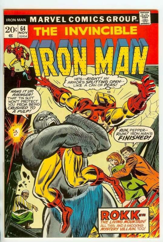 IRON MAN #64 9.4