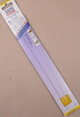 5x Säbelsägeblätter Wilpu 3021/300 HCS/CV 300x19x1,27mm Holz, Gipskarton, PVC