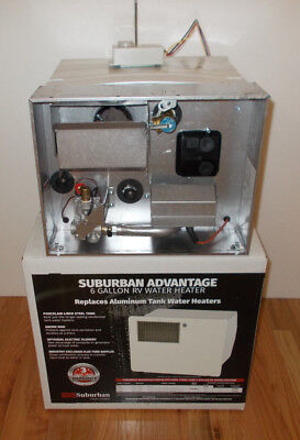 SAW6DE 6 Gallon Suburban Water Heater Both Gas & Electric Atwood Replacement