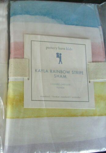 Pottery Barn Kids Kayla stripe sham standard New