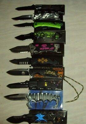Wholesale lot of 10 pcs- Spring Assisted Folding Knife (1029)