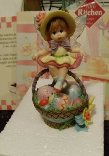 MY LITTLE KITCHEN FARIES  -  EASTER BASKET FAIRIE - NIB  W/ ALL PACKAGING  -  FS