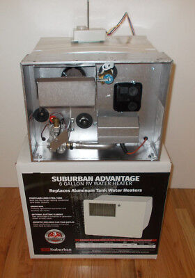 SAW6DEL 6 Gallon Suburban Water Heater Both Gas & Electric Atwood Replacement
