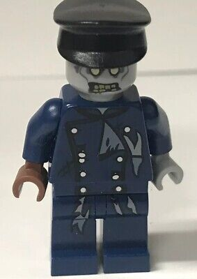 Lego ZOMBIE DRIVER MINIFIG - Monster Fighters Halloween Head Minifigure 9465