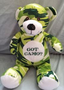 National Entertainment Network  Green Teddy Bear