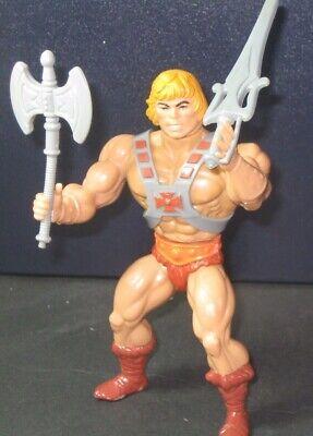 1981 He-Man Action Figure MOTU Masters of The Universe Vintage Mattel Toys RARE