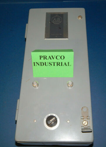 "Allen Bradley Electrical Enclosure 16"" X 7"" X 4"" with 3-Positon Selector Switch"