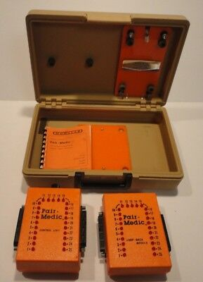Vintage Modulab Pair-medic Model 3000 Telecommunications Cable Test System