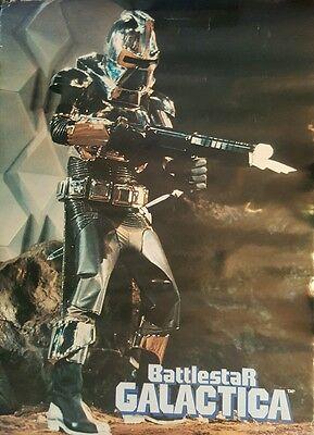 "Vintage 1978 Original Battlestar Galactica Cylon Poster 28"" X 20"" Television"