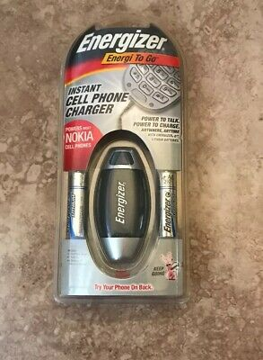 Energizer Energi Go Cell Phone Charger - Energizer Energi to Go Portable Cell Phone Charger - New (Nokia And Motorola)