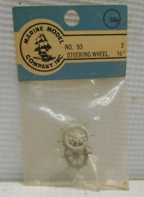 "93 Pair 2 Vintage NOS Marine Model Company 1//2/"" Steering Wheels No"