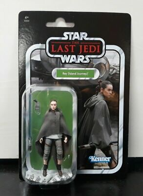 "Star Wars The Last Jedi Rey Island journey 3.75"" Toy Figure VINTAGE COLLECTION"